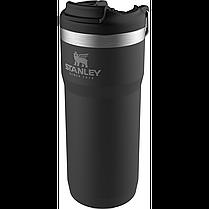 Термокружка STANLEY Classic 0.47L Twin Lock белый, черный, зеленый (10-06443-015), фото 3
