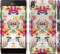 "Чехол на Sony Xperia Z3 D6603 Цветочный узор ""1083c-58"""