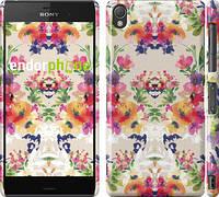 "Чехол на Sony Xperia Z3 dual D6633 Цветочный узор ""1083c-59"""