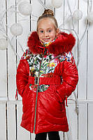 """Детское зимнее пальто, аналог Кико  Kiko""""Леся"""" . от украинского производителя"""