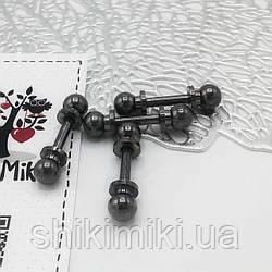 Штанга SH03-2 (13 мм), цвет черный никель