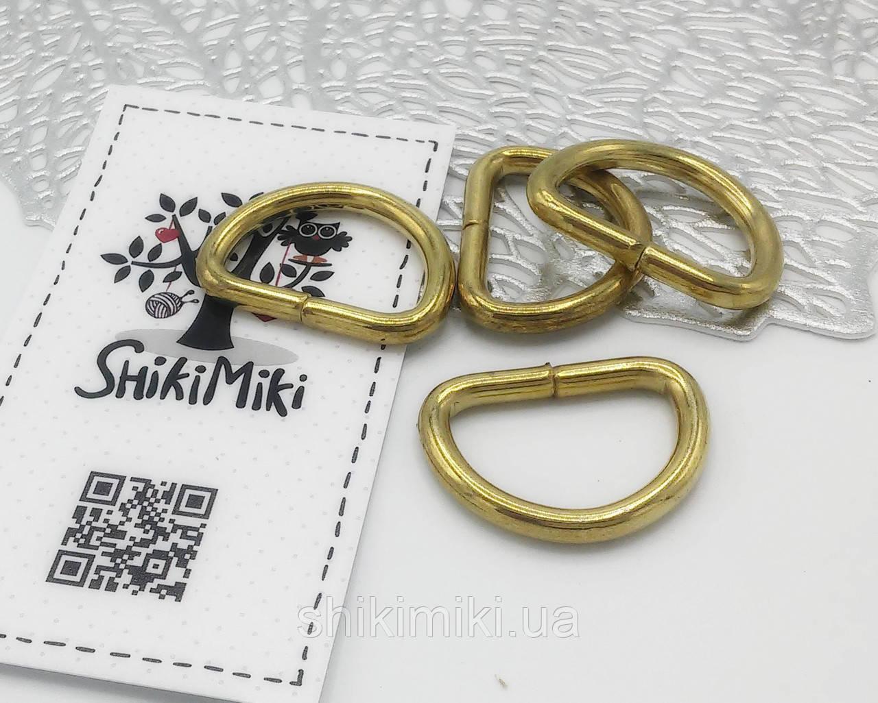 Полукольцо для сумки PK03-3 (25 мм), цвет золото