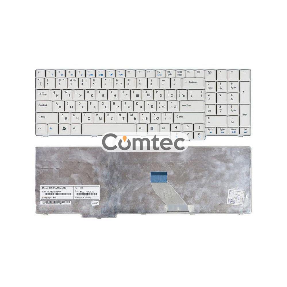 Клавиатура для ноутбука Acer Aspire (7000, 9300, 9400) белый RU