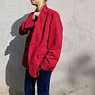 Женский стильный красный жакет. пиджак для девушки, фото 2