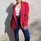 Женский стильный красный жакет. пиджак для девушки, фото 6