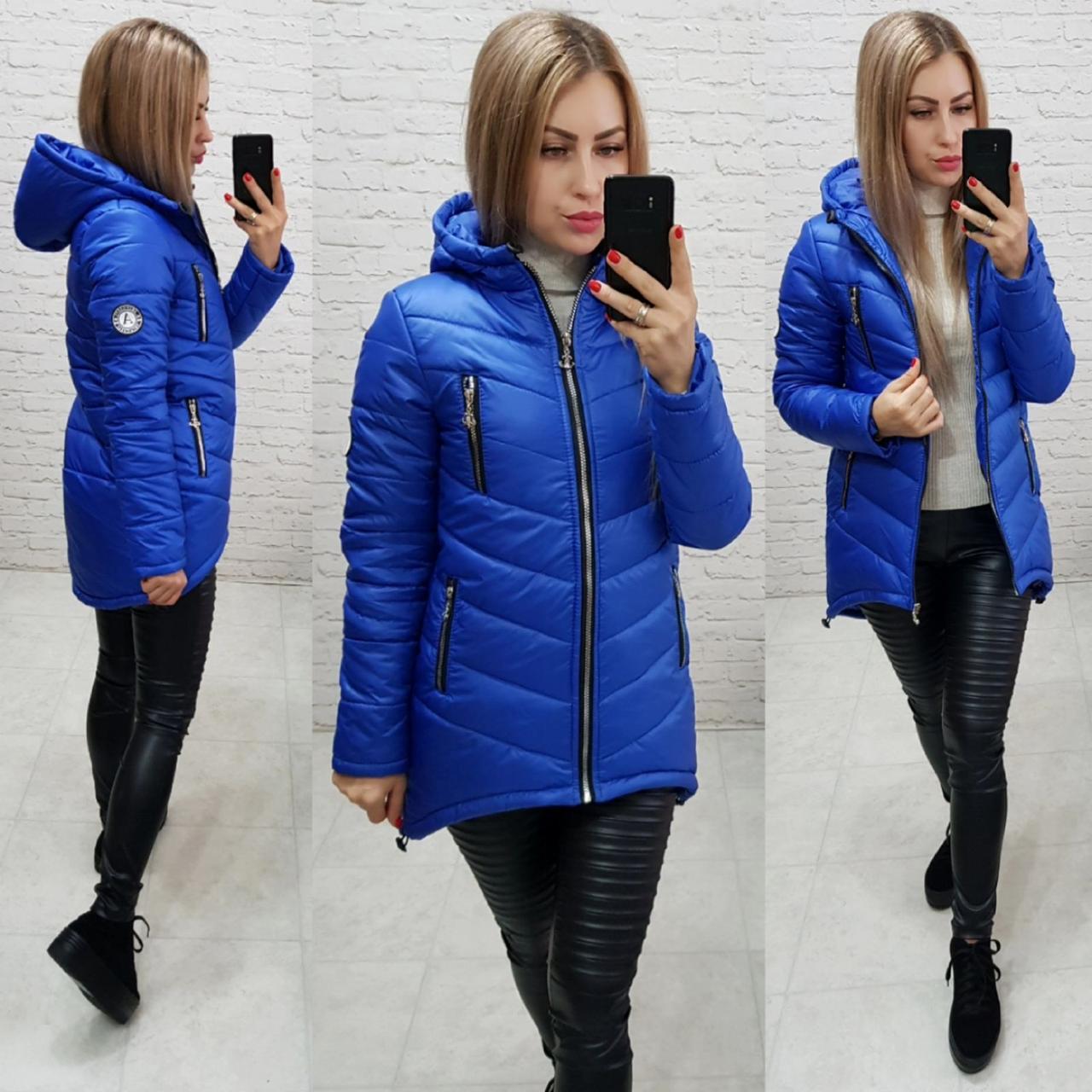 Куртка-парка зима (арт. 300) электрик