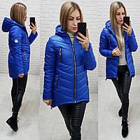 Куртка-парка зима (арт. 300) электрик, фото 1
