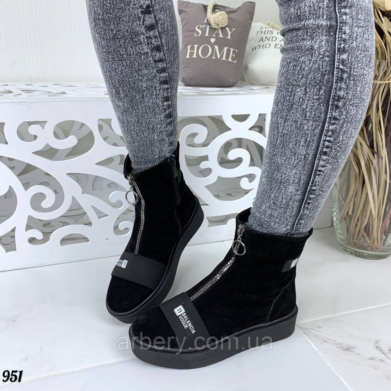 Женские зимние ботинки на каждый день, фото 1