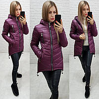 Куртка-парка зима (арт. 300) сливовый, фото 1