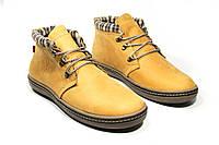 Зимние ботинки (на меху) мужские Switzerlend 13035 (реплика)