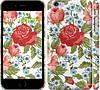 "Чехол на iPhone 6 Plus Цветы 20 ""2525c-48"""