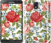 "Чехол на Samsung Galaxy Note 3 N9000 Цветы 20 ""2525c-29"""