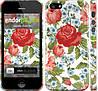 "Чехол на iPhone 5 Цветы 20 ""2525c-18"""