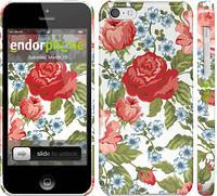 "Чехол на iPhone 5c Цветы 20 ""2525c-23"""