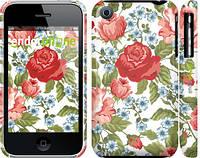 "Чехол на iPhone 3Gs Цветы 20 ""2525c-34"""
