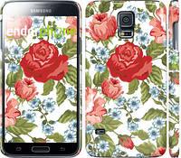 "Чехол на Samsung Galaxy S5 Duos SM G900FD Цветы 20 ""2525c-62"""