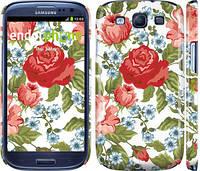 "Чехол на Samsung Galaxy S3 Duos I9300i Цветы 20 ""2525c-50"""