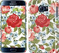 "Чехол на Samsung Galaxy S6 G920 Цветы 20 ""2525c-80"""