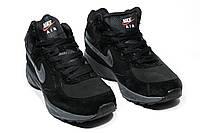 Зимние ботинки (на меху) мужские Nike Air (реплика) 1-043