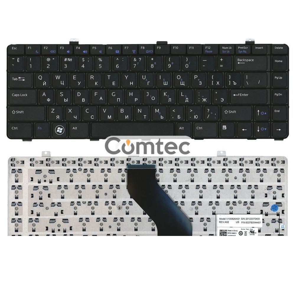 Клавиатура для ноутбука Dell Vostro (V13, V13Z) BL, Русская/EN
