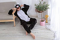Пижама кигуруми черный кот S, M, L, XL