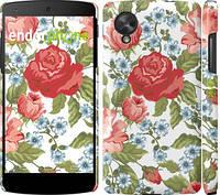 "Чехол на LG Nexus 5 Цветы 20 ""2525c-57"""