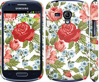 "Чехол на Samsung Galaxy S3 mini Цветы 20 ""2525c-31"""
