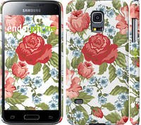 "Чехол на Samsung Galaxy S5 mini G800H Цветы 20 ""2525c-44"""