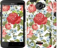 "Чехол на HTC One X Цветы 20 ""2525c-42"""