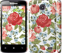 "Чехол на Lenovo A820 Цветы 20 ""2525c-68"""
