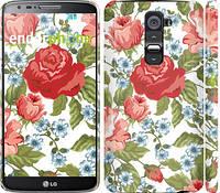 "Чехол на LG G2 Цветы 20 ""2525c-37"""