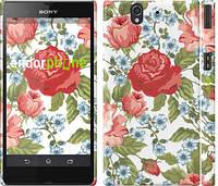 """Чехол на Sony Xperia Z C6602 Цветы 20 """"2525c-40"""""""