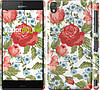 "Чехол на Sony Xperia Z3 D6603 Цветы 20 ""2525c-58"""