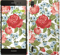 "Чехол на Huawei Ascend P7 Цветы 20 ""2525c-49"""
