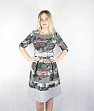 Женское модное платье миди «Колокол», фото 4