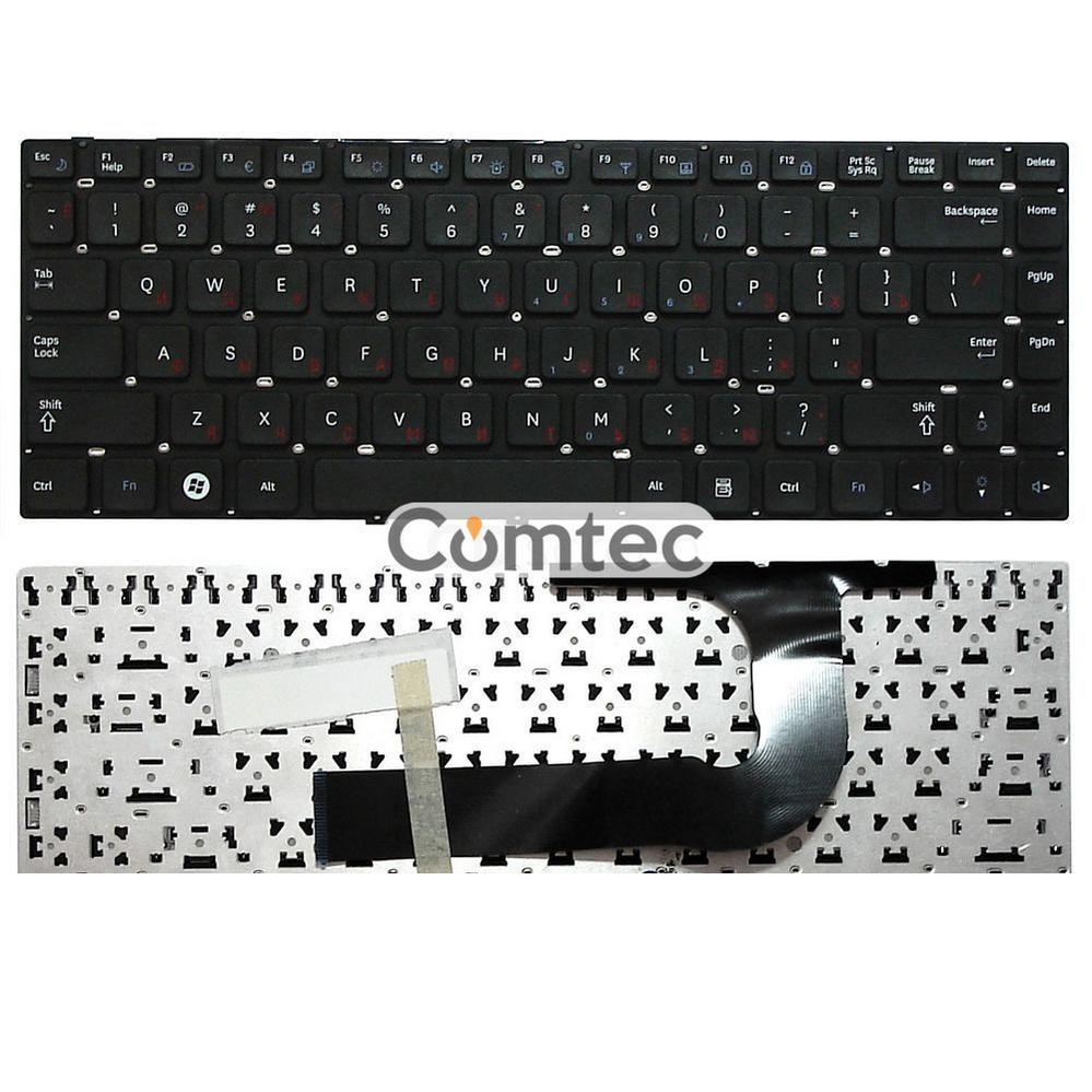 Клавиатура для ноутбука Samsung (Q330) черный, (без фрейма), Русская