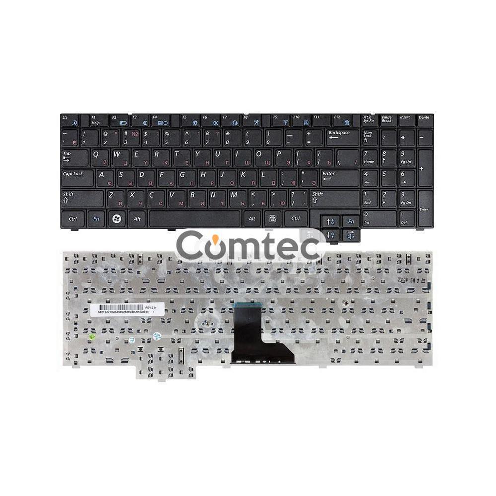 Клавиатура для ноутбука Samsung (R519) черный, Русская