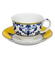 Чайный набор Vista Alegre CASTELO BRANCO 4 чашки 270мл и 4 блюдца