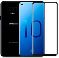 Стекло на самсунг Защитное стекло Nillkin Anti-Explosion Glass Screen (CP+ max 3D) для Samsung Galaxy S10 Черный