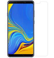 Стекло на самсунг Защитное стекло Nillkin Anti-Explosion Glass (H) для Samsung Galaxy A9 (2018) Прозрачное