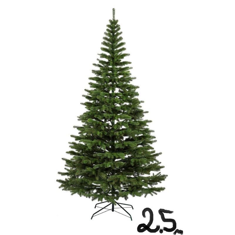 """Искусственная елка """"Литая Ковалевская"""" 2,5м зелёная"""