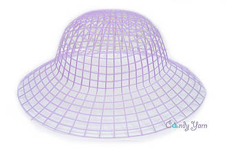 Пластиковая канва для шляп_Фиолетовый