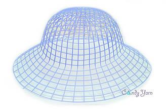 Пластиковая канва для шляп_Синий