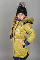 Зимнее очень красивое пальто для девочки