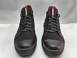 Стильные зимние нубуковые ботинки под кеды Madoks, фото 5