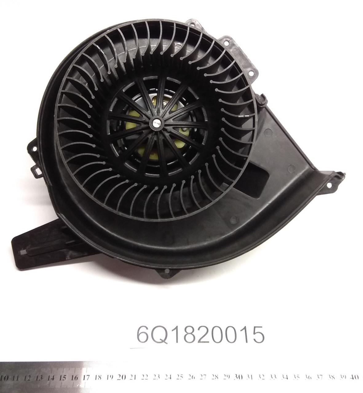 Мотор печки Skoda Praktik AC+
