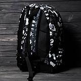 Классный рюкзак с принтом Nike Для путешествий тренировок учебы PN1016 Vsem, фото 6