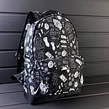 Классный рюкзак с принтом Nike Для путешествий тренировок учебы PN1016 Vsem, фото 7