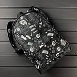 Классный рюкзак с принтом Nike Для путешествий тренировок учебы PN1016 Vsem, фото 8