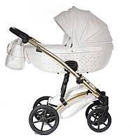 Детская коляска 2 в 1 Tako Cristal Fluo Line 06 белая